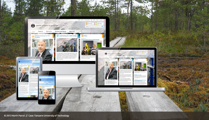 tampere-university-of-technology-responsive-website